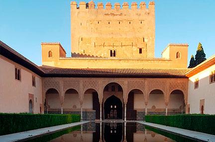 Comares, el palacio construido por el sultán Yusuf I de Granada