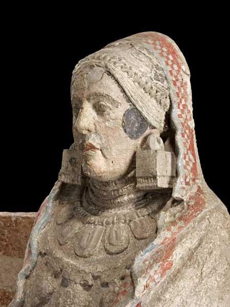 Estatua sedente de la Dama de Baza
