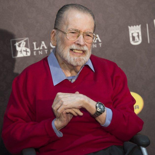 El realizador Chicho Ibáñez Serrador, uno de los ilustres del Cementerio de San José de Granada