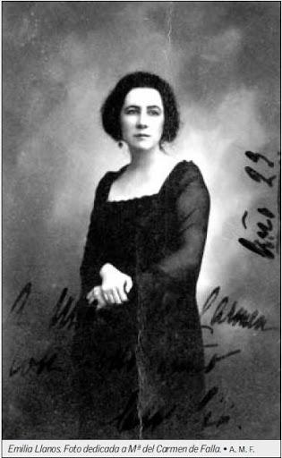 La intelectual Emilia Llanos (1885-1967)