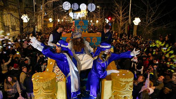 Cabalgata de Reyes de Granada
