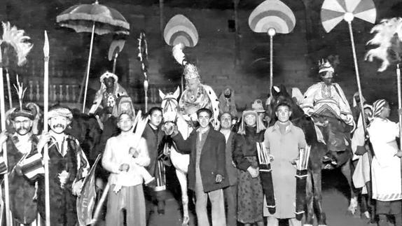 Primeras cabalgatas de Reyes