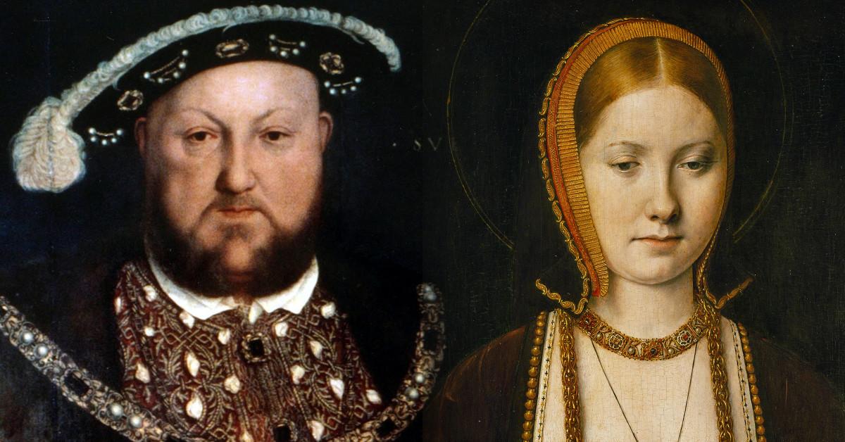 Catalina de Aragón y Henry VIII, reyas de Inglaterra