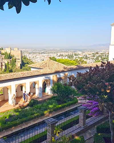 La Almunia del Generalife es también parte de la Alhambra en Granada
